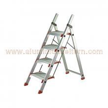 Aluminium Sicherheitstreppe ohne Bügel 2