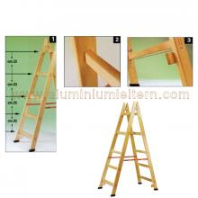 Holzleitern SE 7 stufen