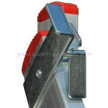 Allzweckleiter  zweiteilig V2x6 Massive Stahlbeschläge 2